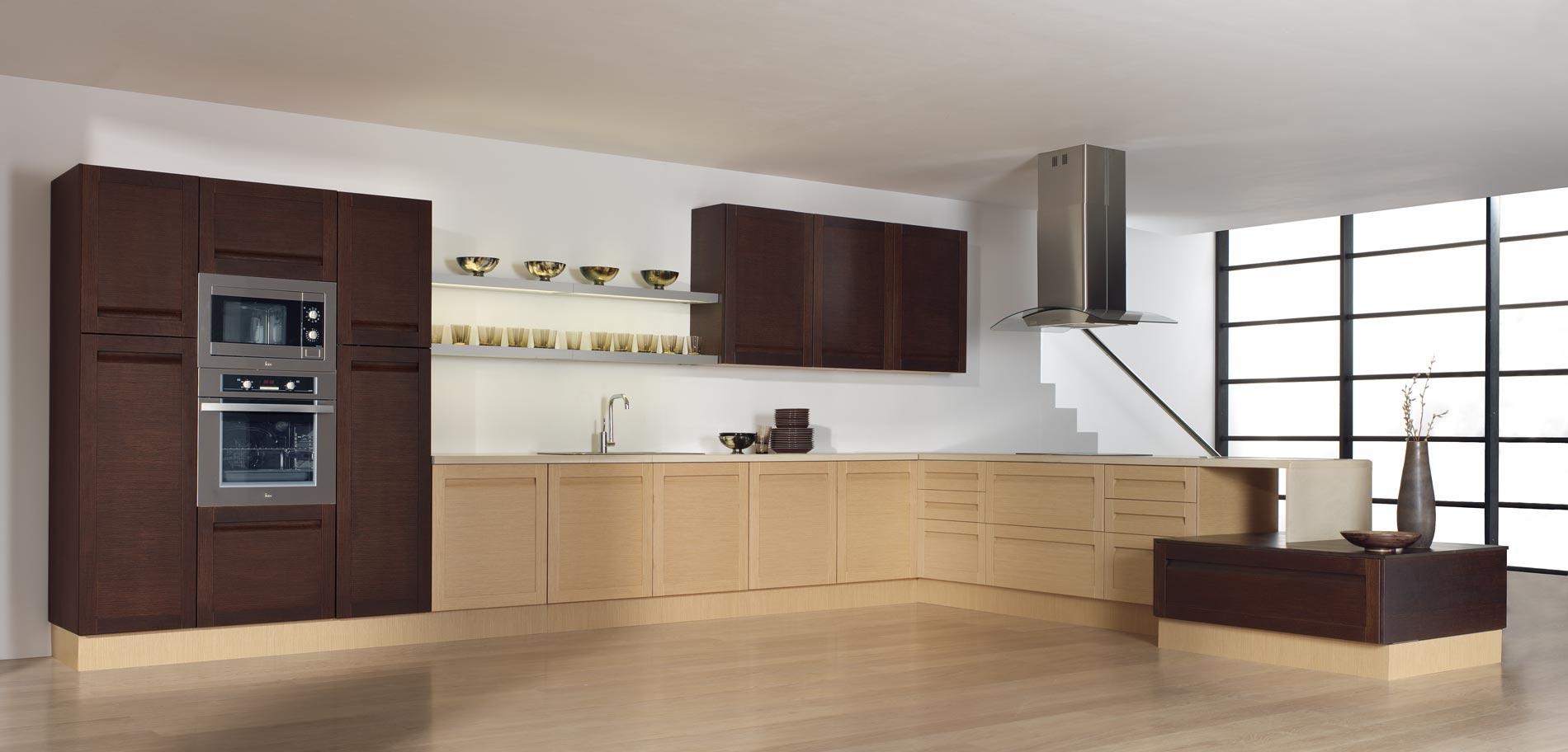 Colores de muebles de cocina modernos excellent muebles - Cocinas de colores ...